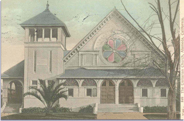 Unitarian Church of Alameda c. 1900